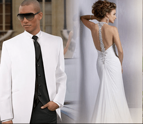 Las Vegas Wedding Gowns and Tuxedo | Little Church of the West