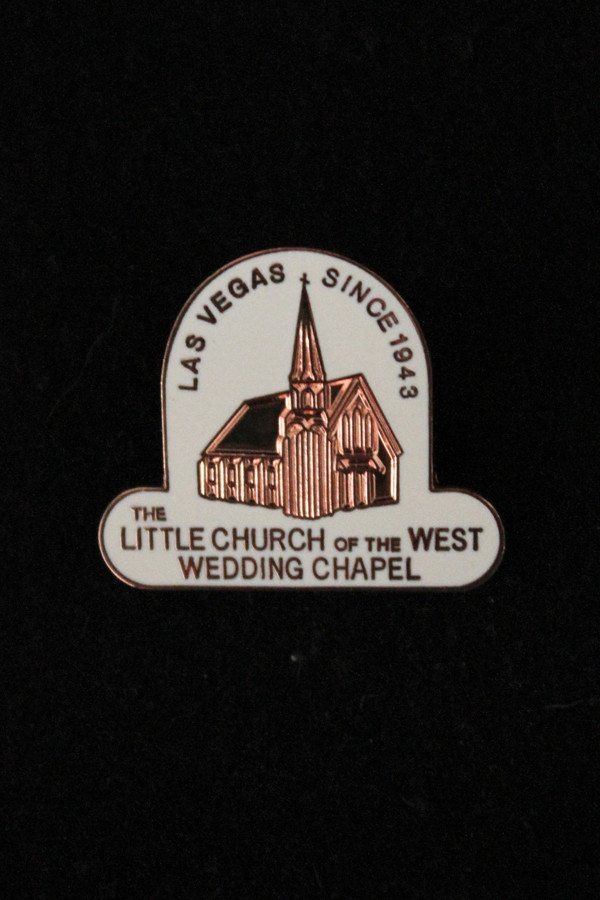 Little Church Collector Pin - Bronce | Easy Wedding Las Vegas