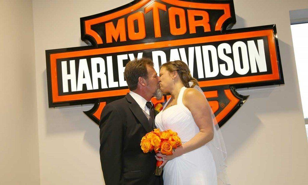 Las Vegas Harley Davidson Biker Weddings
