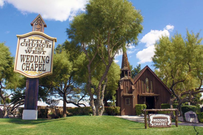Wedding Chapels In Las Vegas 1 Venue Little Church Of